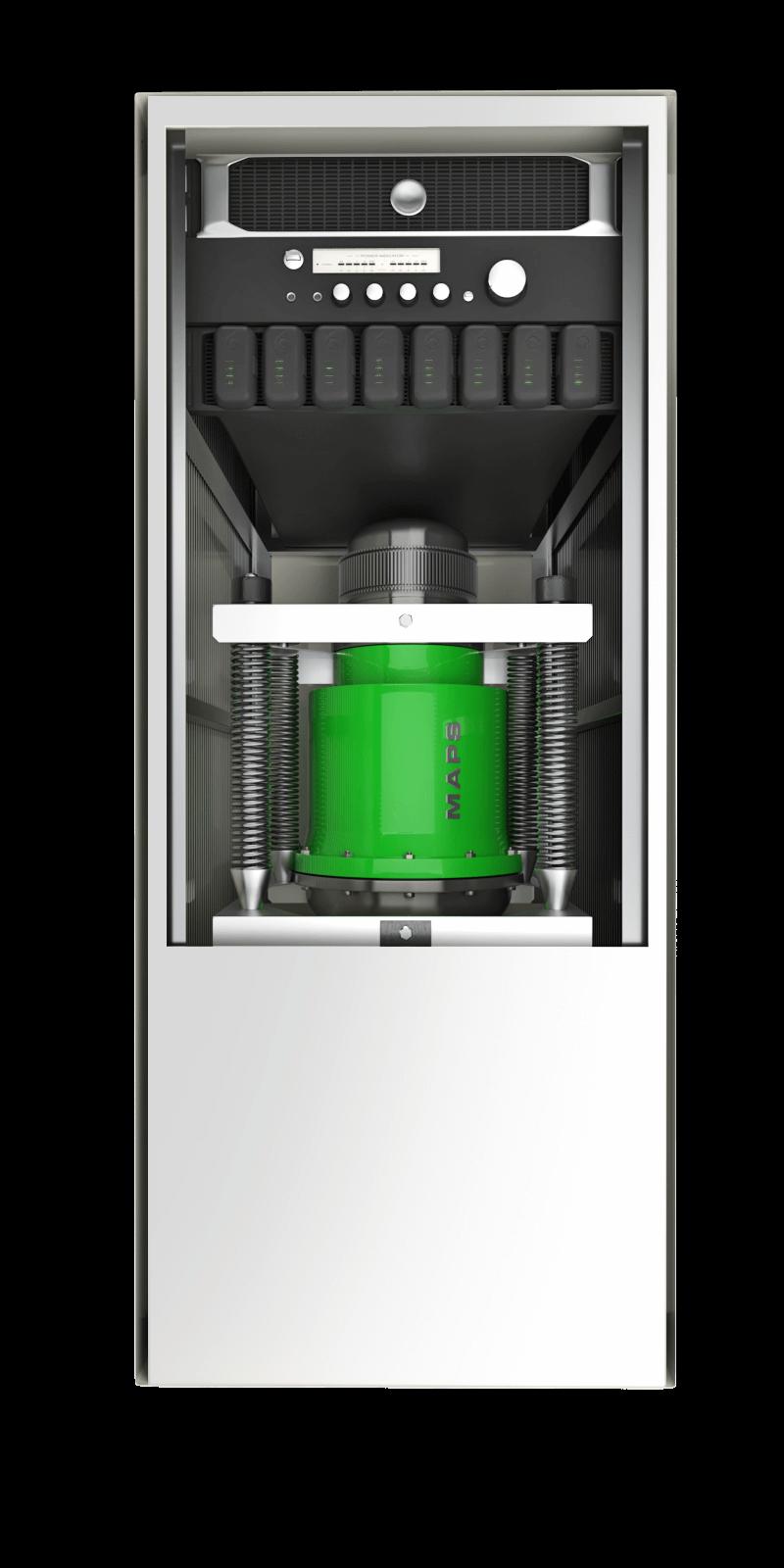 MAPS TSP Power Generator Front Open